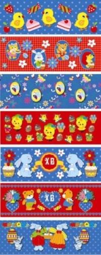 Детские. Пасхальная декоративная термоусадочная пленка на 7 яиц